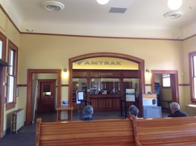 Historic Eugene Train Station
